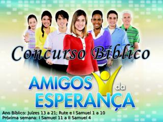 Concurso Bíblico 2011 - 12.ppt