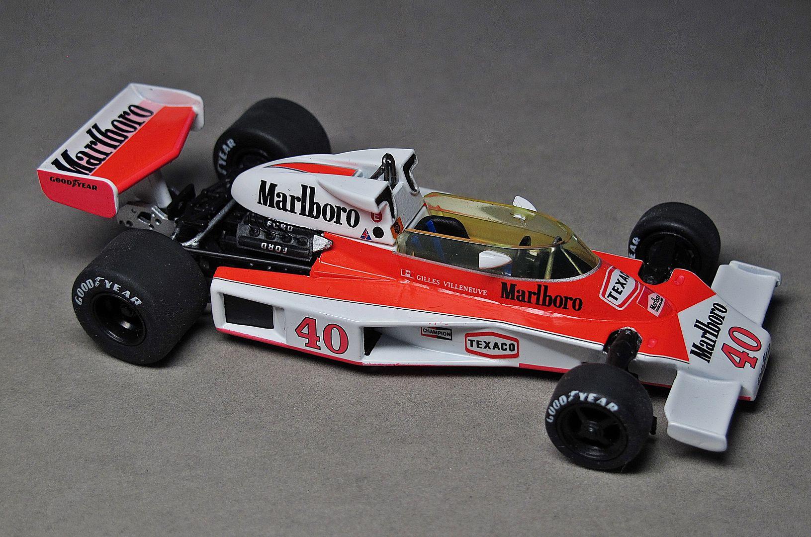 Formula 1 №21 - McLaren M23 Жиль Вильнёв (1977)