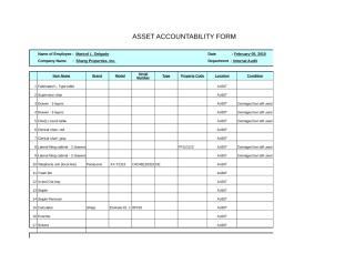 Asset accountability form-Joonee Santiago.xls
