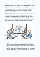 Whiteboard Animation Videos Convert the Viewers to Buyers.pdf